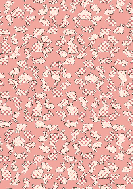 Cute Pink Bunny Rabbits
