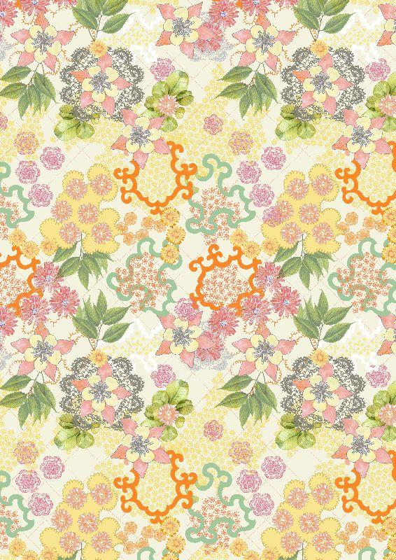 Vintage Summer Floral