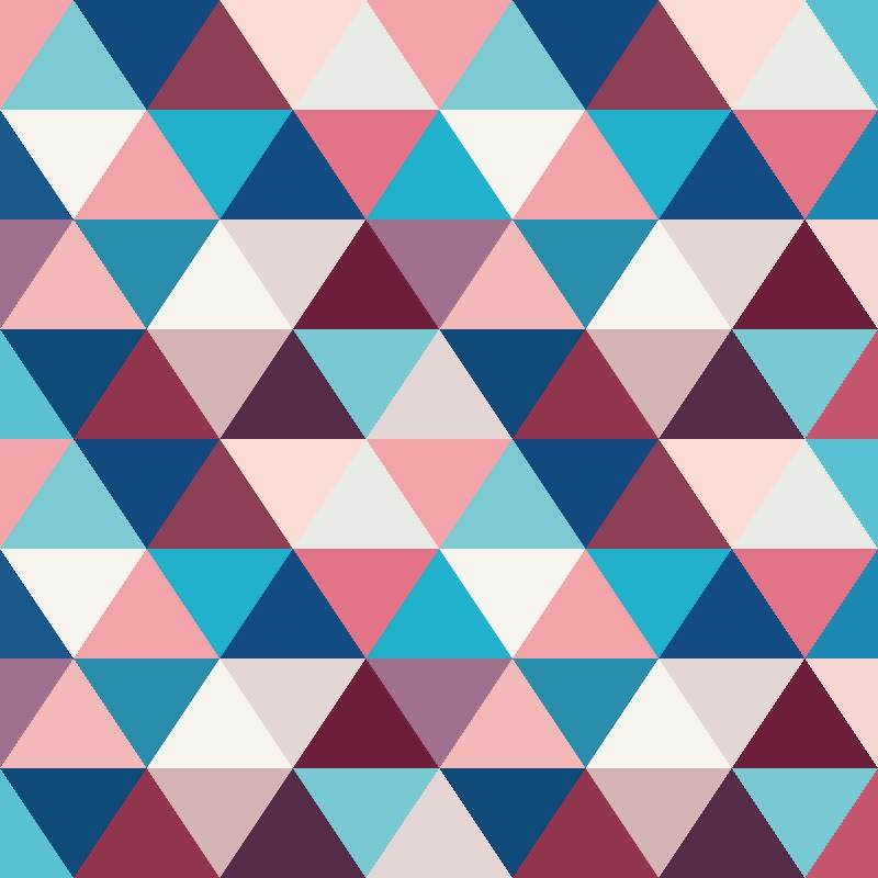 Cold triangular pattern