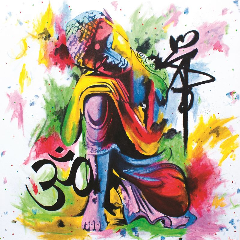 Kneeling Buddha