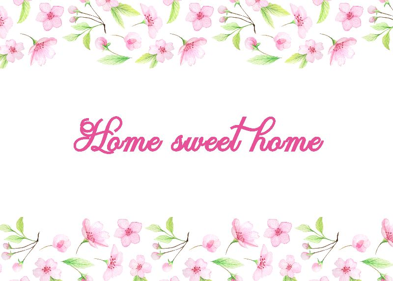Home sweet home Cherry