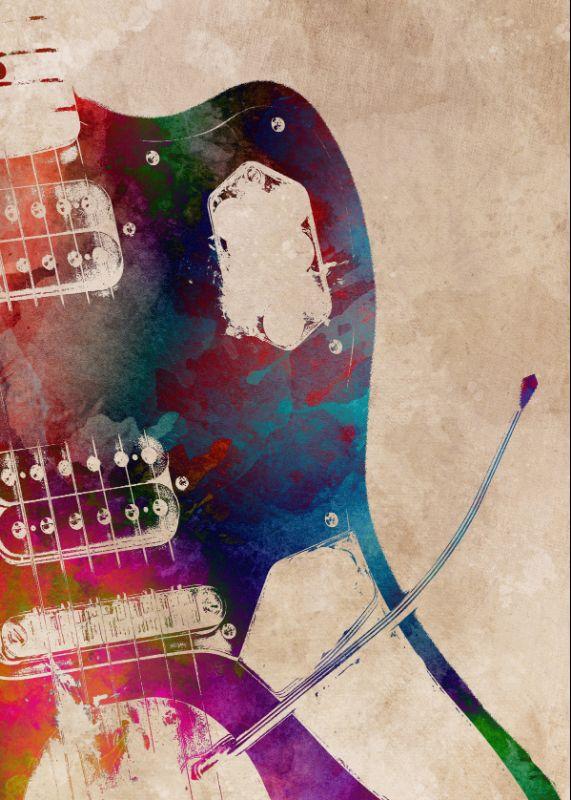 Guitar art 3