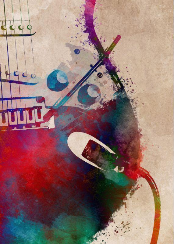Guitar art 4