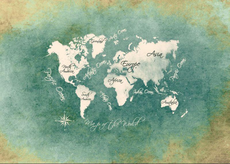 World map art 16