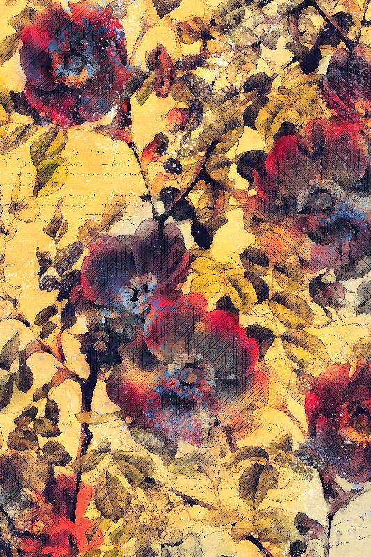 flowers art 1