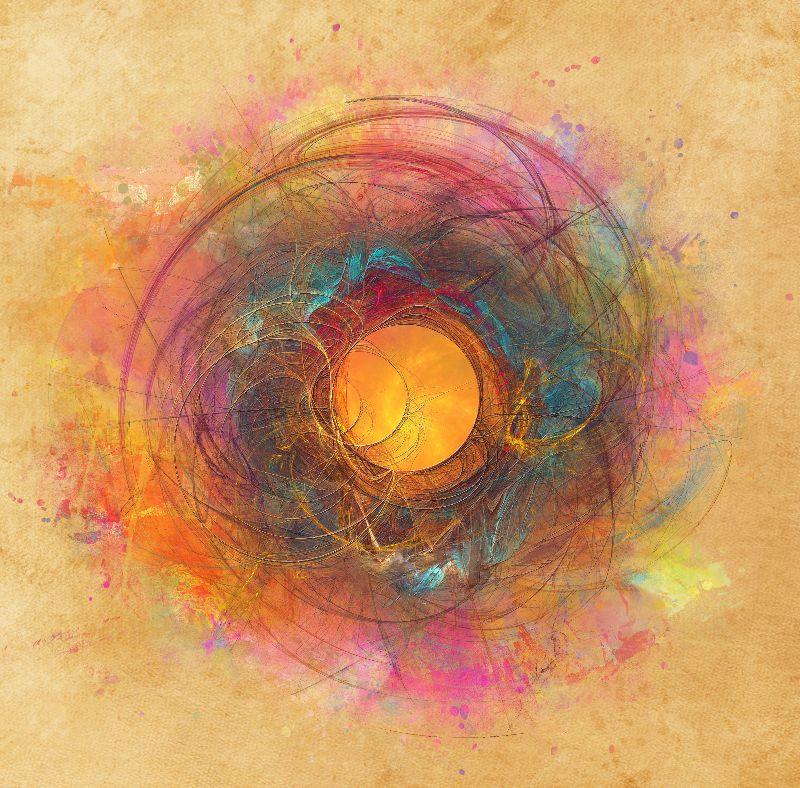 fractal sun