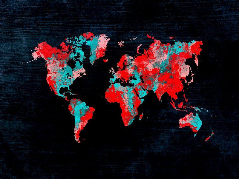 world map art 11