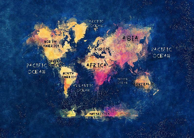 world map art 13