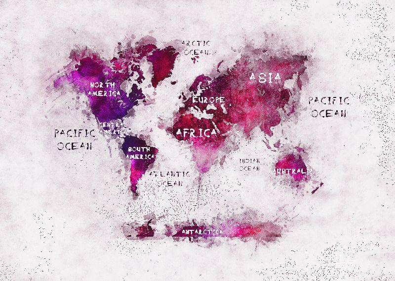world map art 14