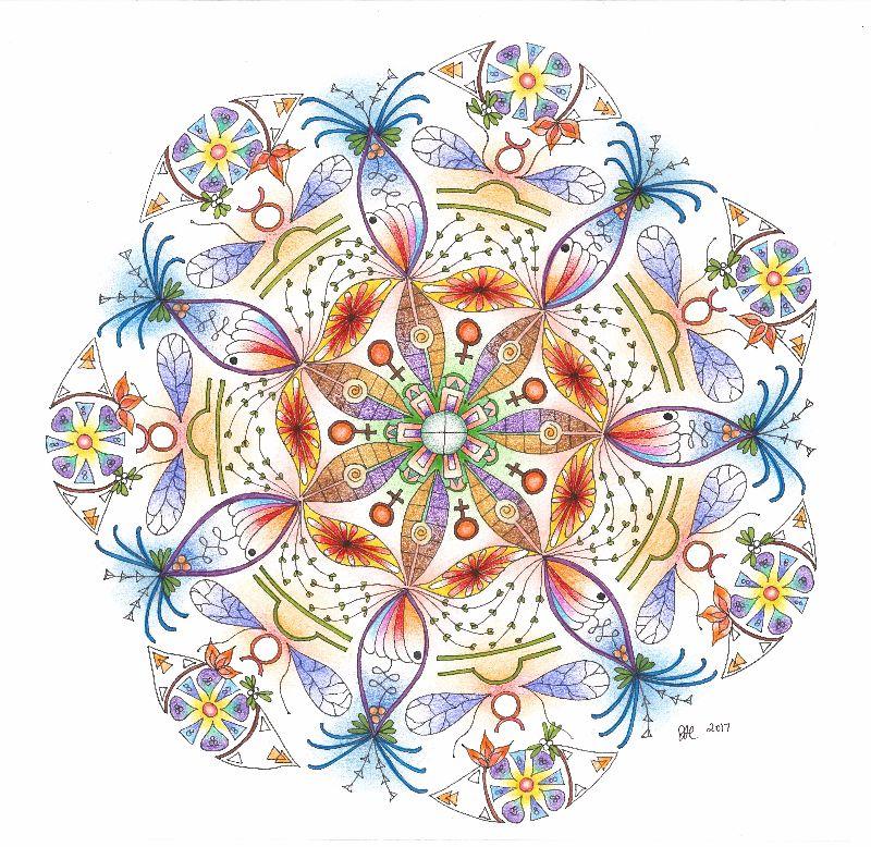 Mother Earth Mandala