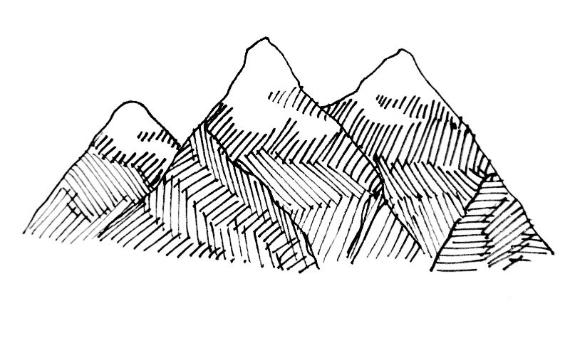 Textured Mountain