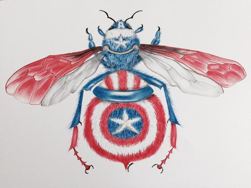 Cap Bee