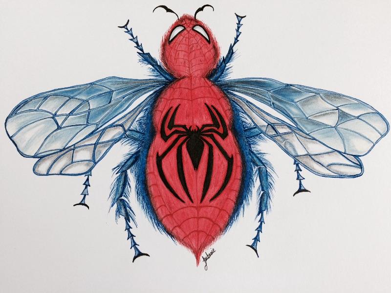 Spider Bee