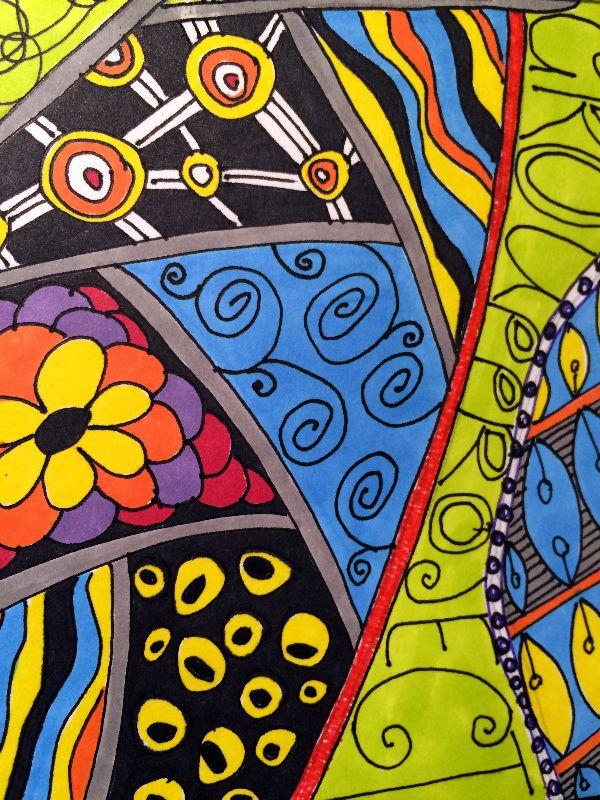 Abstract Zentangle