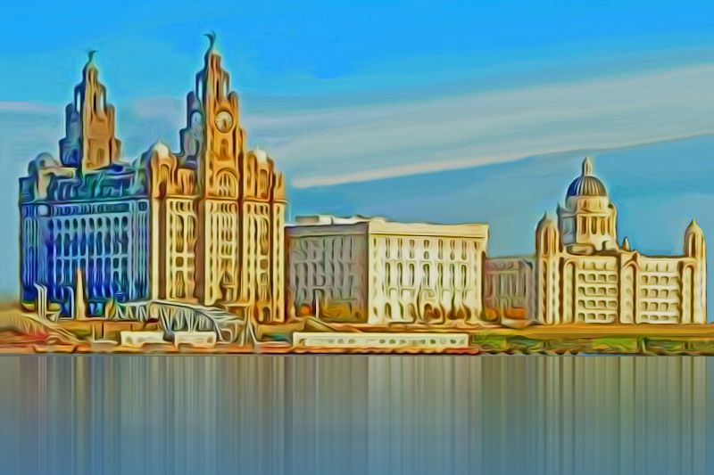 Water front Liverpool