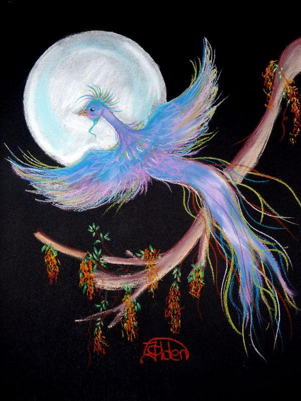 Blue Moon Bird