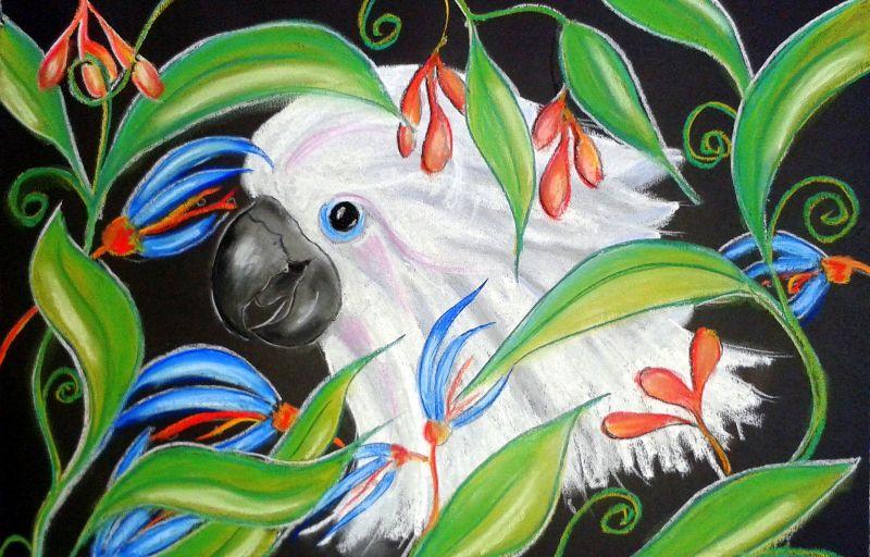 Cockatoo floral
