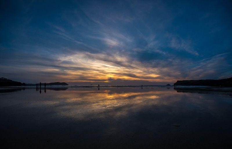 Sunset Symmetry Polzeath