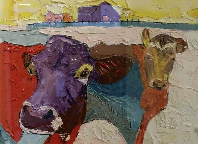 Colourful cows