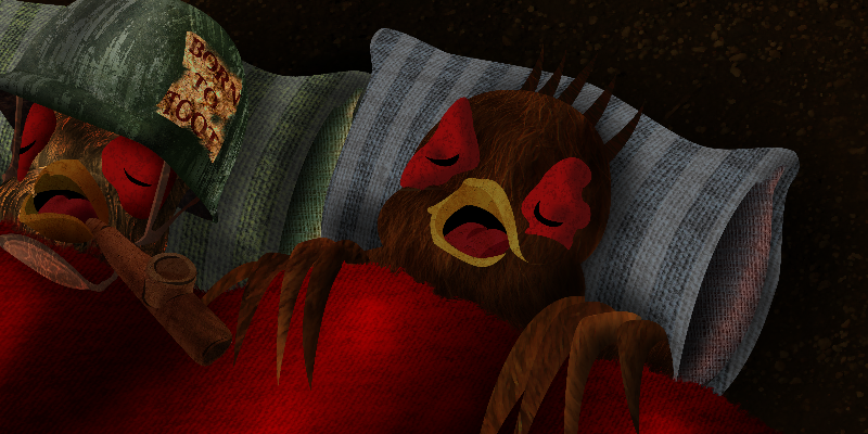 A Pheasant Nights Sleep