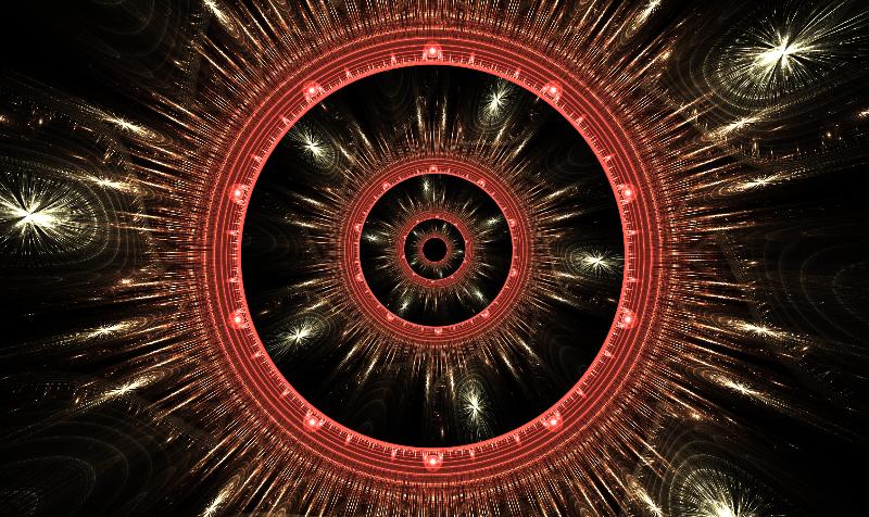 Stylised Corona Vortex