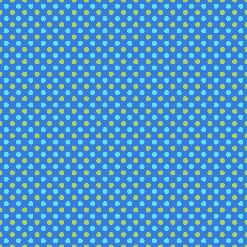 Blue Moons Polka Dots