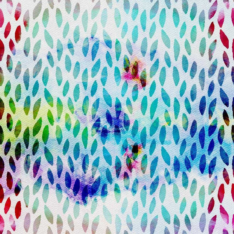 Turquoise Boho Pattern