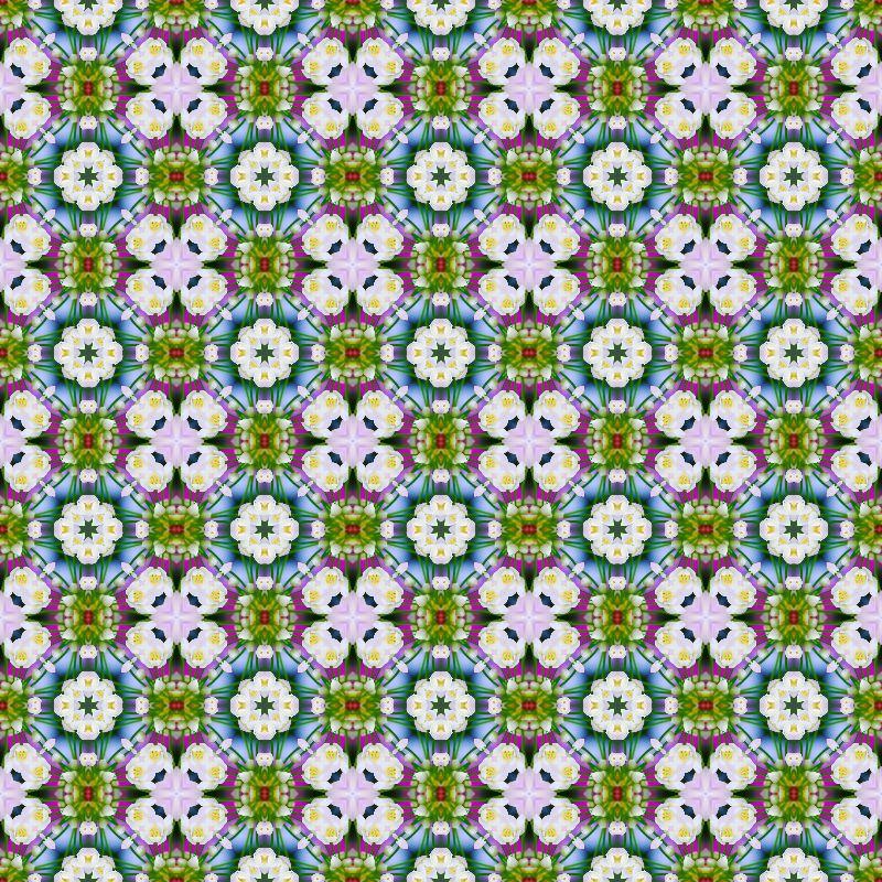 Ethno floral pattern