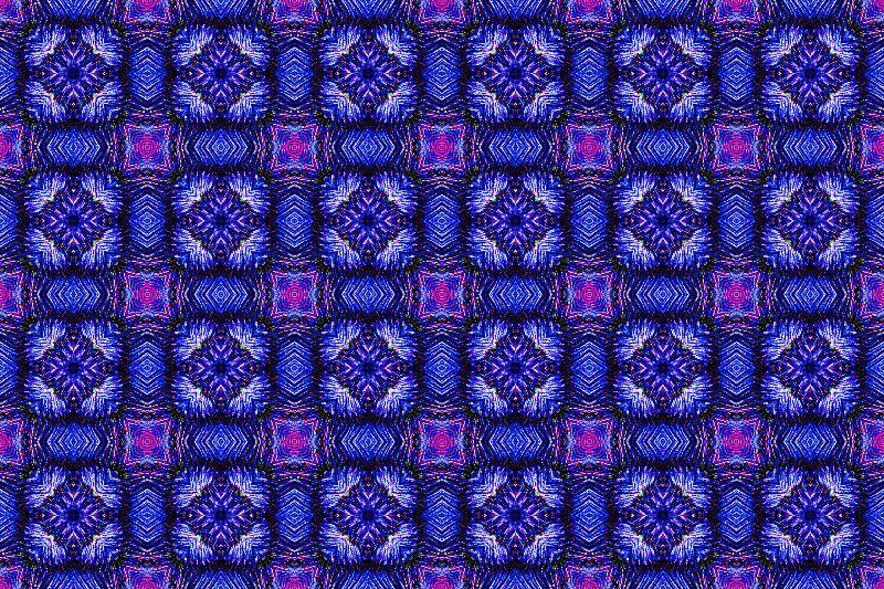 Geometric checked pattern