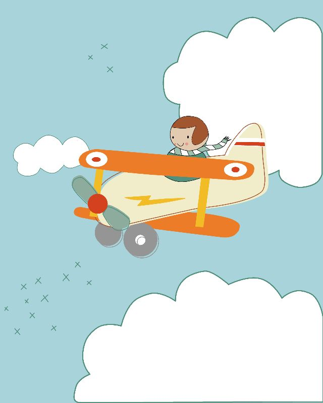 B is for Biplane