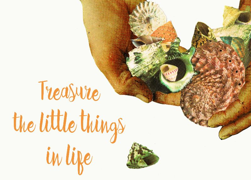 Treasure the little thing