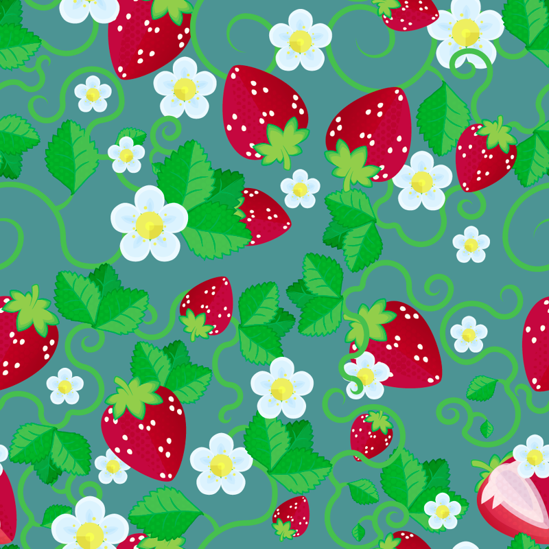 Summertime Strawberries