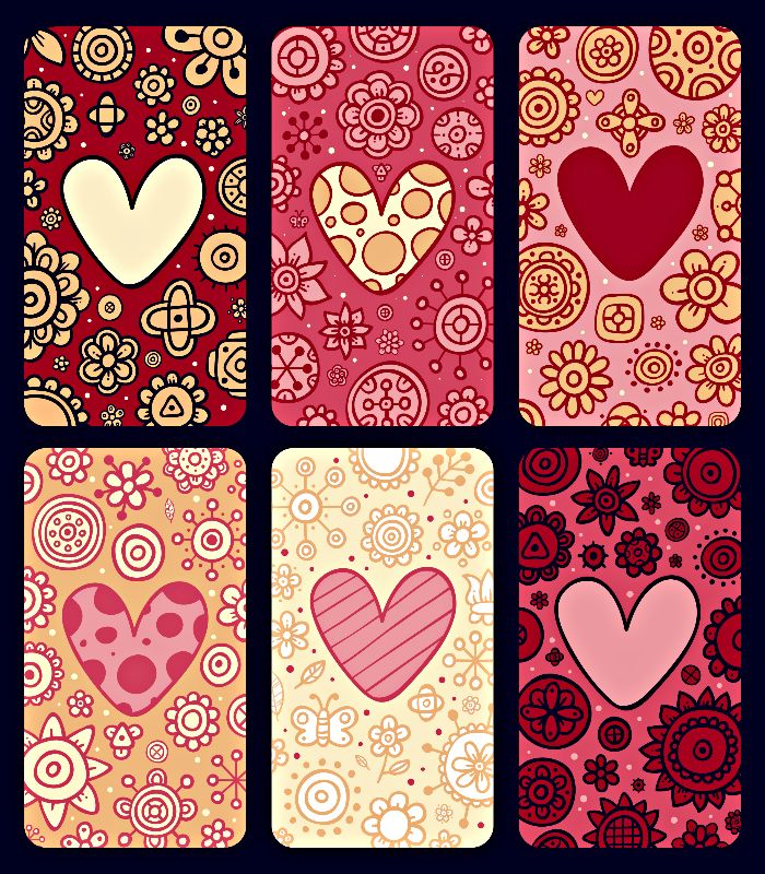 Chic hearts patchwork