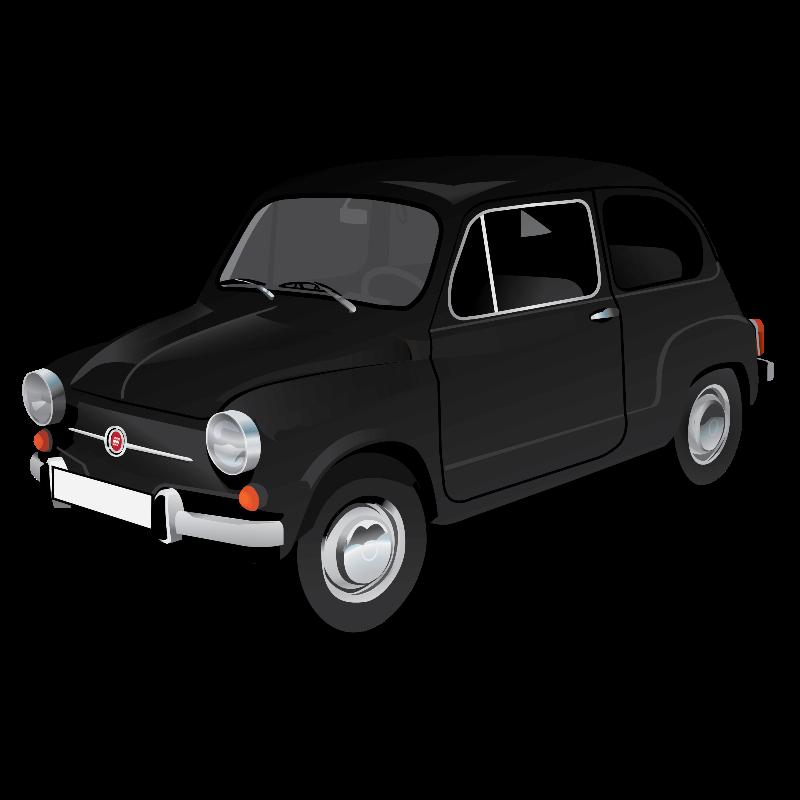 Fiat 600 black
