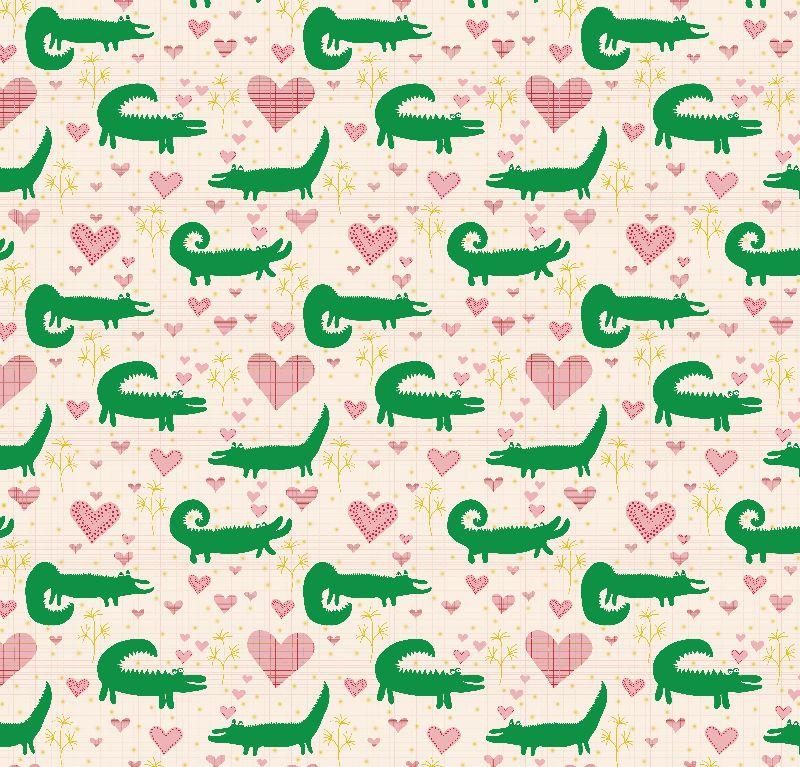 Mr Crocodile loves you