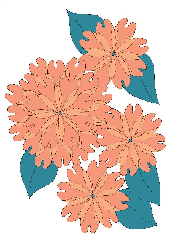 FlowerGroup Peach