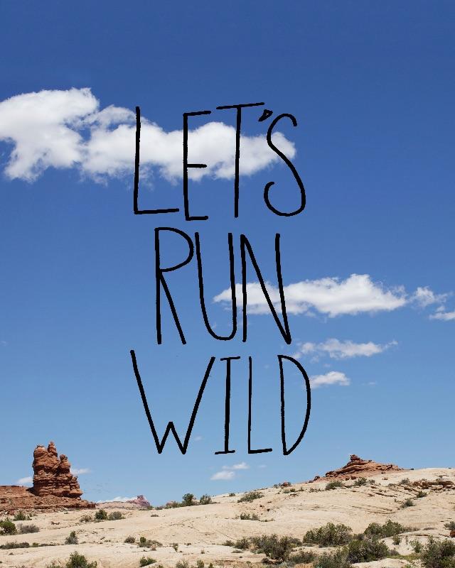 Lets Run Wild