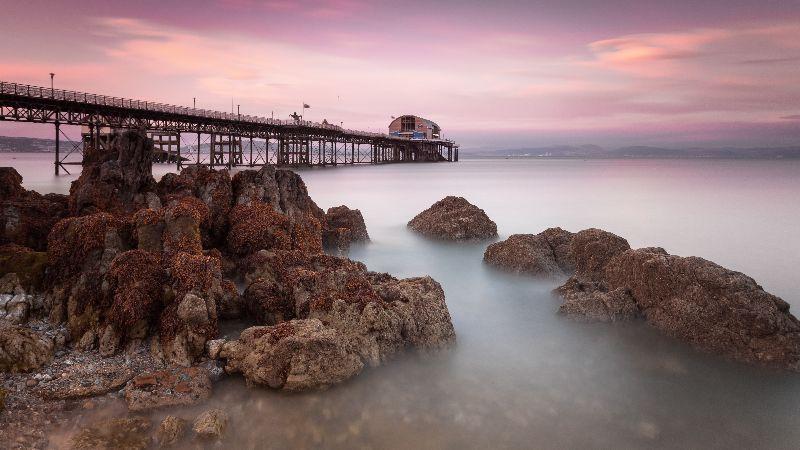 Mumbles pier Swansea