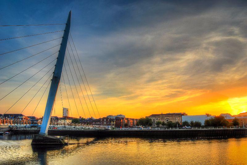 Swansea Millennium bridge