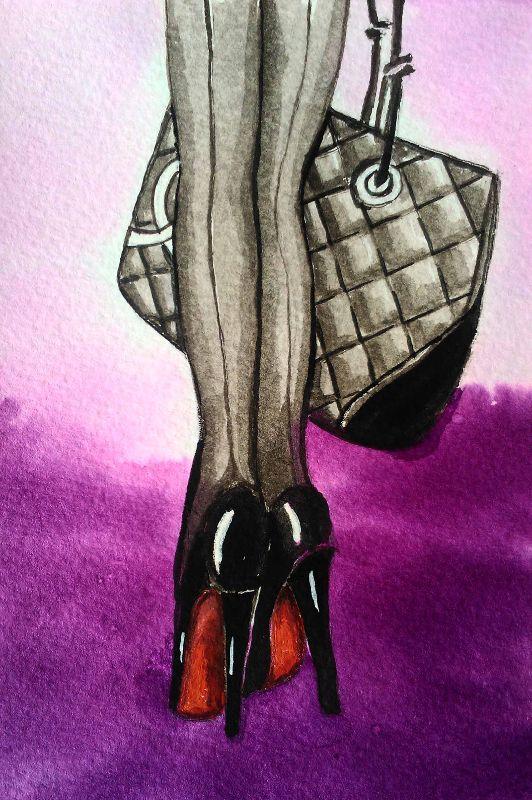 Handbag and Heels