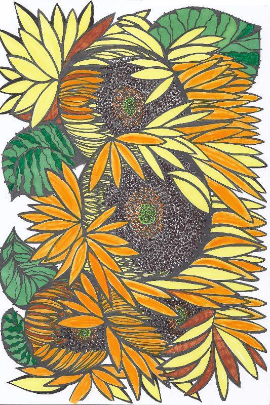 Sunflowers for Mungo