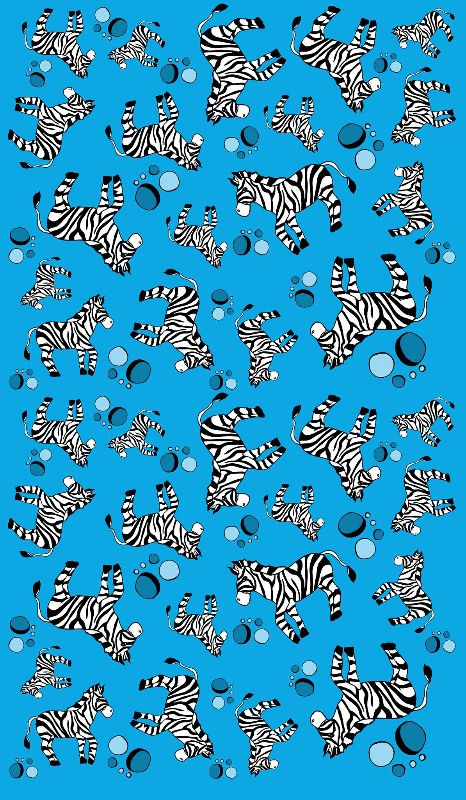 bubbles and zebras