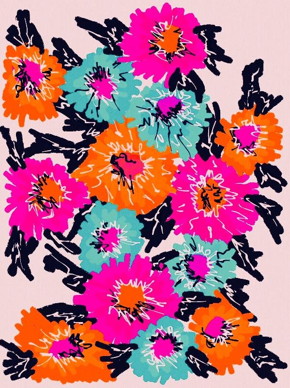 Sketchy Floral