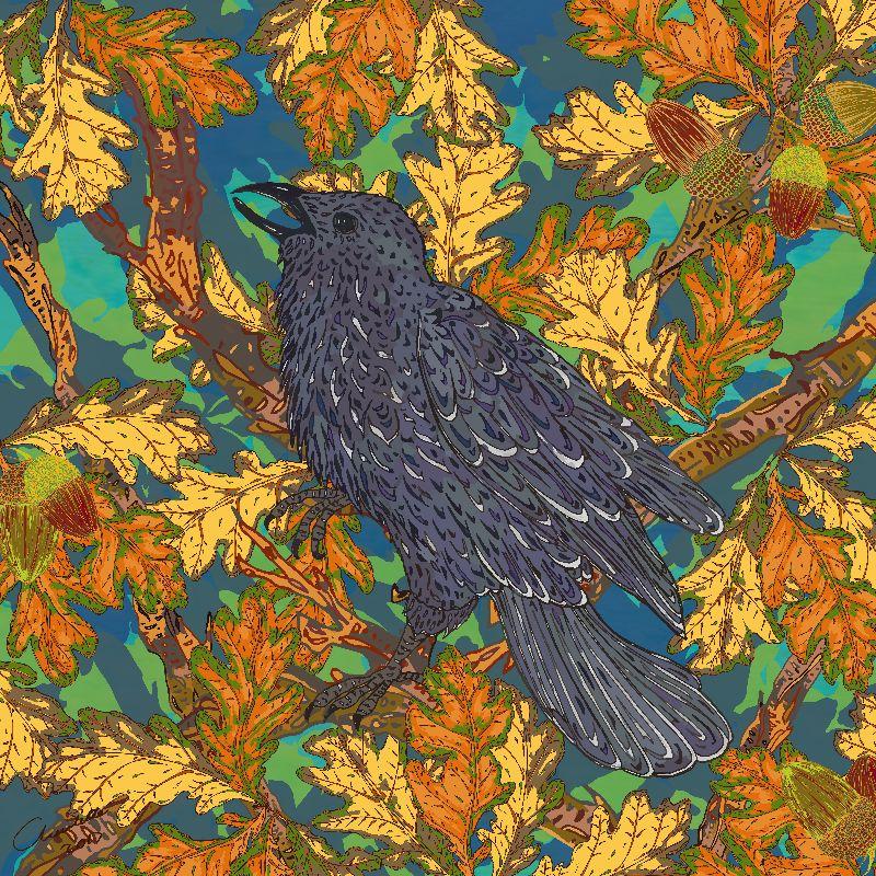 Raven and Oak