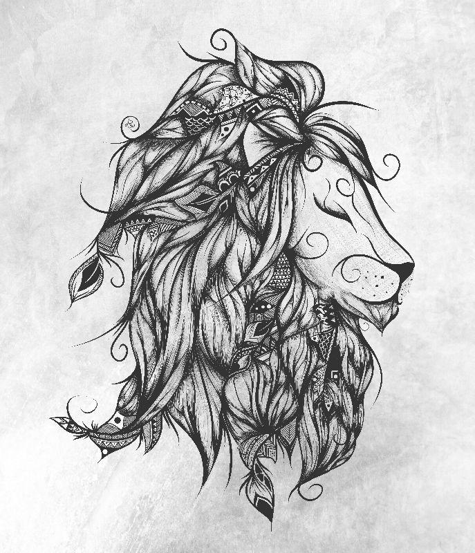 Poetic Lion