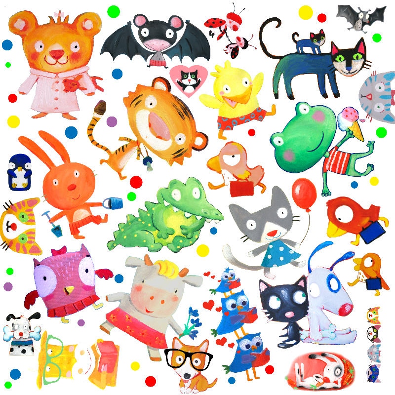 animals kids pattern