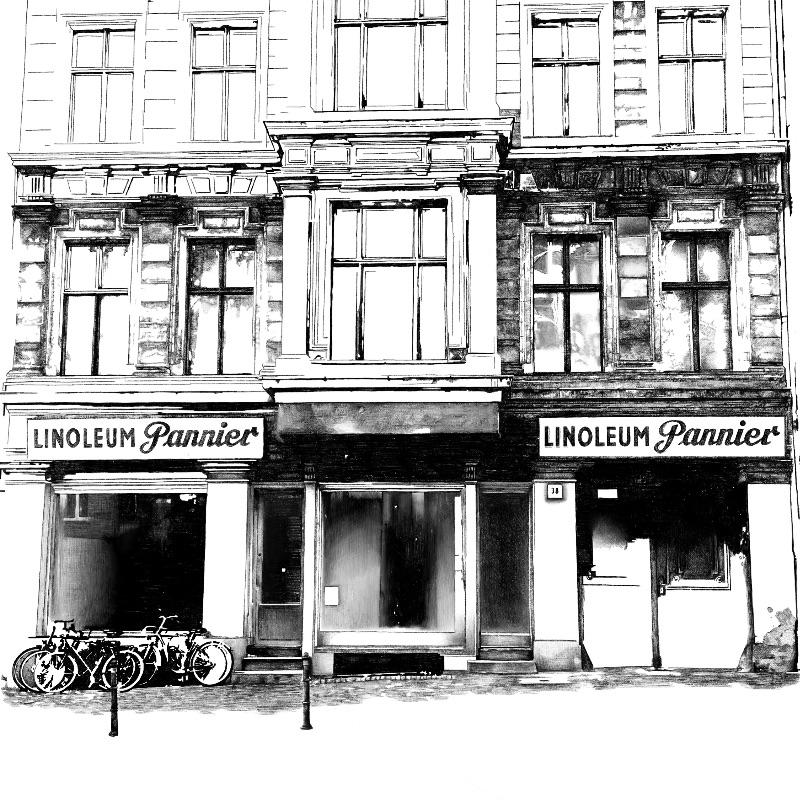 Retro Berlin Building