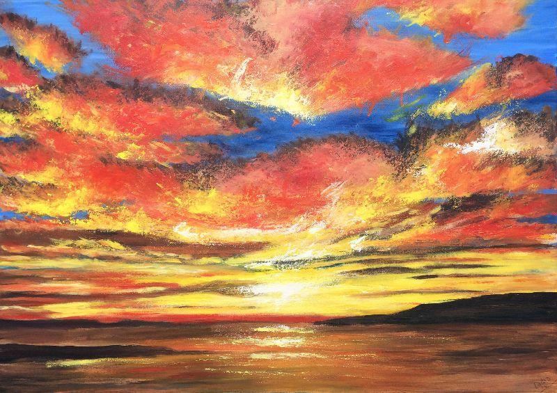 Scorching Sunset