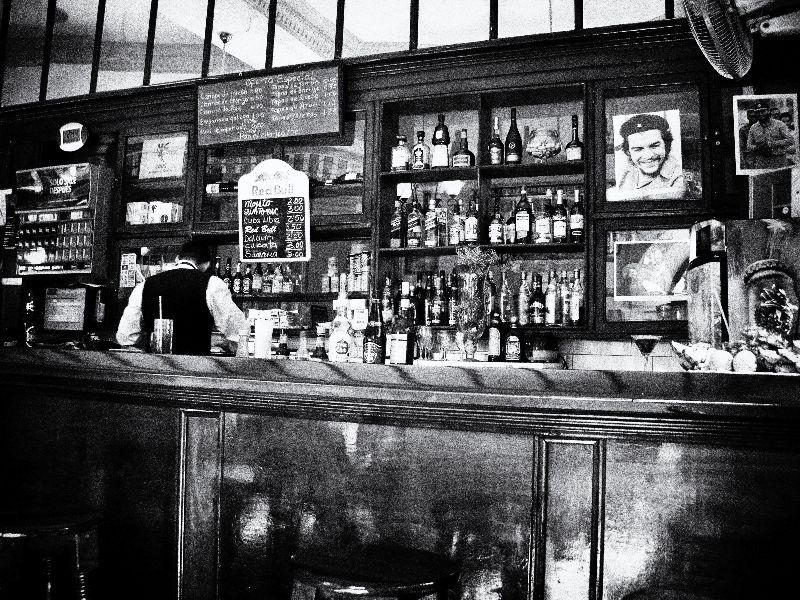 Bar in Old Havana Cuba