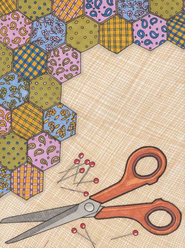 crafty patchwork